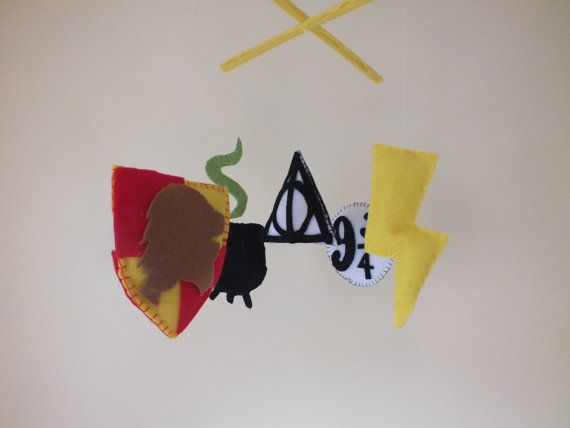 Harry Potter Baby Mobile on Etsy, $58.94