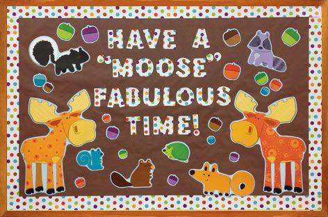 Moose and Friends Bulletin Board Set #ClassroomDecorations #BulletinBoard