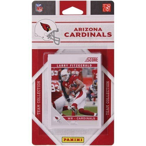 2011 Score Arizona Cardinals Factory Sealed 13 Card Team Set. Players Include: Adrian Wilson, Beanie Wells, Darnell Dockett, Dominique Rodgers-cromartie, Jay Feely, Larod Stephens-howling, Larry Fitzgerald, Steve Breaston, Tim Hightower, Patrick Peterson, Quan Sturdivant, Robert Housler and Ryan Williams. by Panini. Save 13 Off!. $5.24. This package is a must for all Arizona Cardinals fans. You'll get a 2011 Official Score NFL team set featuring your favorite Cardinals.  This is...