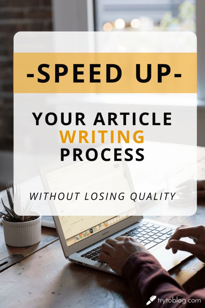 A must-read for every blogger / digital marketer: 9 great, simple, applicable, and super-effective tips on how to speed your article writing process without losing any quality! Learn how to produce more content - write your blog posts and articles faster. Super-simple and super-effective!