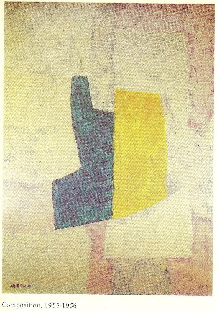Poliakoff, by Gerard Durozoi-Edit.1984-Composition 1955-56