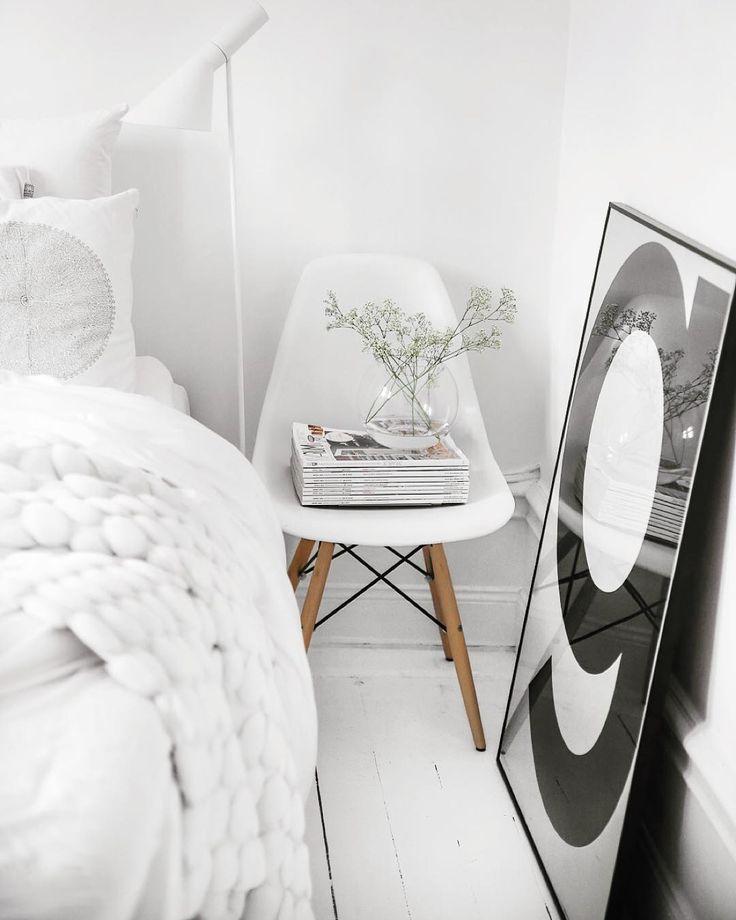85 besten wandfarbe wei white bilder auf pinterest wandfarbe wei mein haus und wohnideen. Black Bedroom Furniture Sets. Home Design Ideas