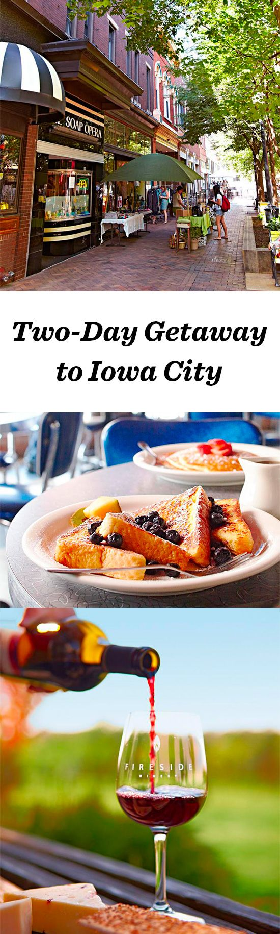 The University Of Iowa Anchors Iowa City, Where An Exciting Cultural Scene  And Eclectic Dining