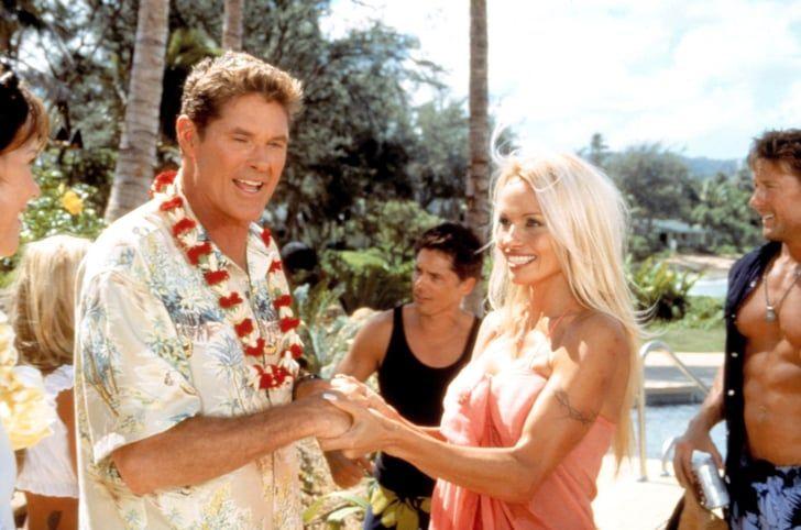 Baywatch Hawaiian Wedding In 2020 Tv Weddings Hawaiian Wedding Baywatch