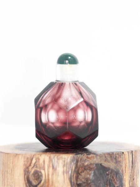 Hoi! Ik heb een geweldige listing op Etsy gevonden: https://www.etsy.com/nl/listing/117644247/snuif-fles-schildpad-paars-glas