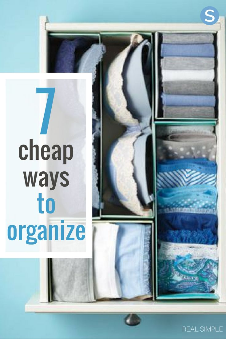 7 Cheap Organizing Hacks For A Clutter Free Home Clutter