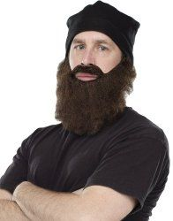 Duck Dynasty Costume Beards | Goody Guides Jase beard and cap set