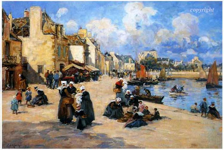 Concarneau et ses Peintres - Fernand Le Gout-Gérard 1854-1924