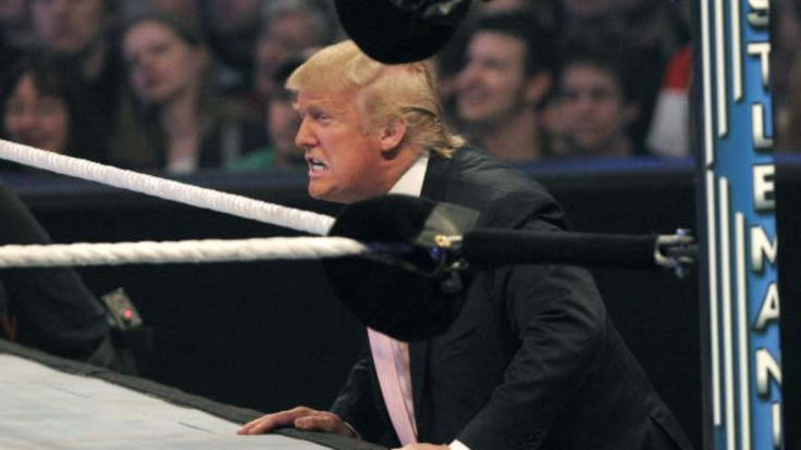 Few people who generate memes—regardless of whether or not they threaten the fourth estate—expect to see them really catch on, let alone be shared by the president of the United States. But that's what happened to the Redditor who altered a video of Donald Trump wrasslin' Vince McMahon during WWE's