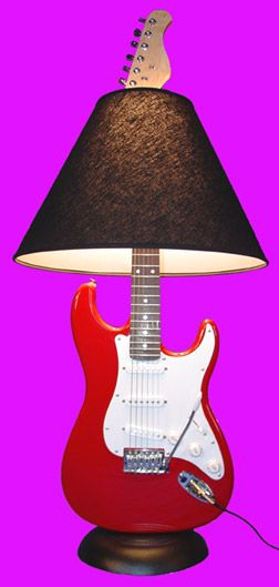 Musical Instrument Lamp Bases | ... base is made from the bottom half of a new round base microphone stand