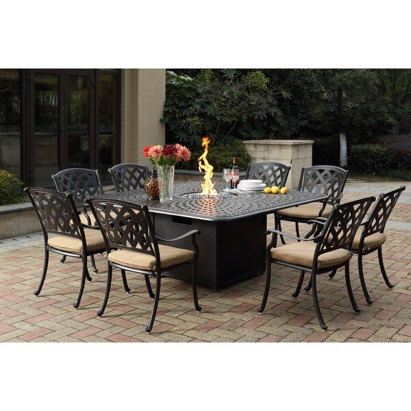 Campton Stacking Patio Dining Chair With Cushion Outdoor Dining Set Patio Dining Set Patio Dining Chairs