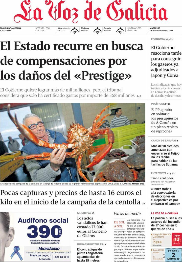 25 best 20 Noviembre 2013 Principales Titulares Portadas Noticias ...