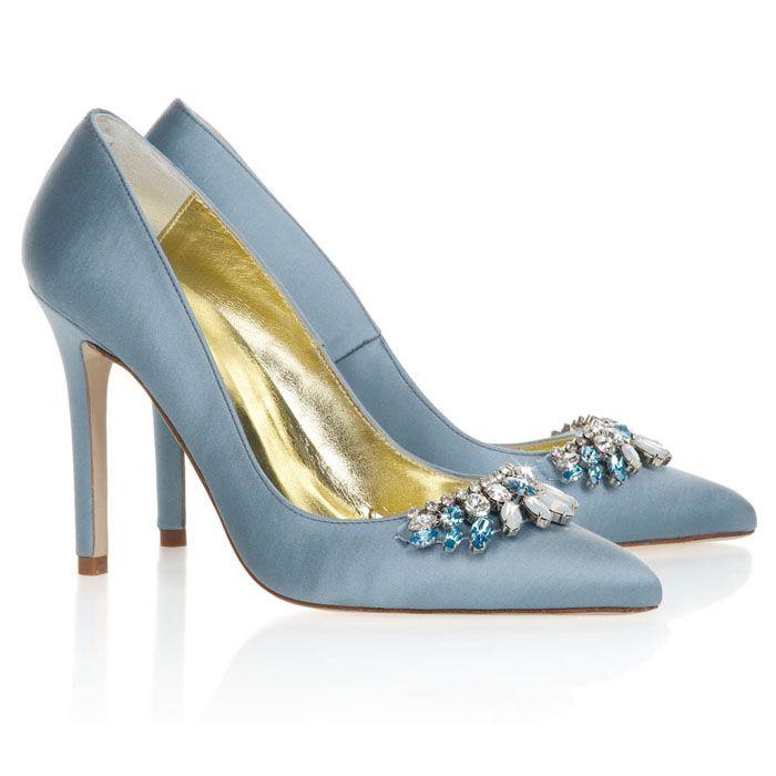 10 'something blue' bridal shoes   Freya Rose   weddingsite.co.uk