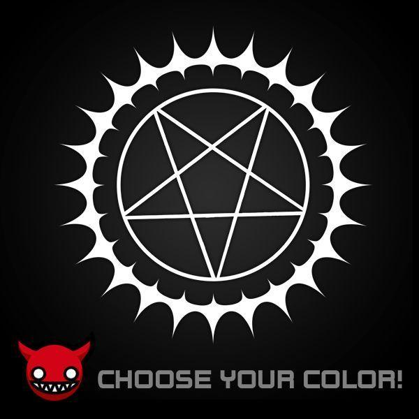 Black Butler Kuroshitsuji Pentagram Logo Inspired Anime