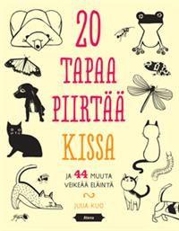 http://www.adlibris.com/fi/product.aspx?isbn=9517969163 | Nimeke: 20 tapaa piirtää kissa ja 44 muuta veikeää eläintä - Tekijä: Kuo Julia - ISBN: 9517969163 - Hinta: 13,90 €