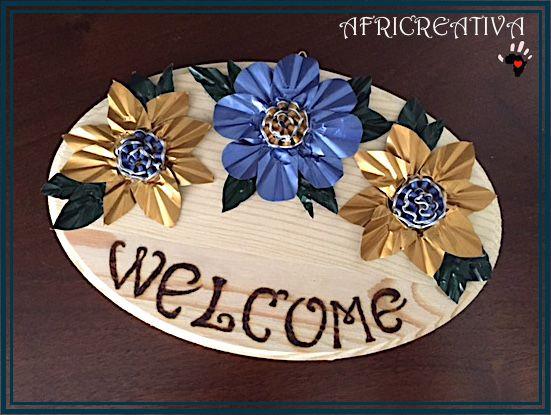 Ormai lo sapete che amo realizzare fiori di tutti i tipi (sarà a causa del mio pollice nero?).  Con le mitiche cialde delcaffè, ne avevo ...