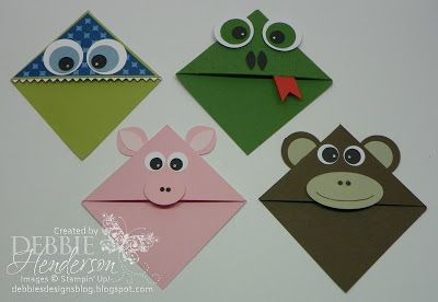 Debbie's Designs: Wednesday Wacky-Bookmarks!