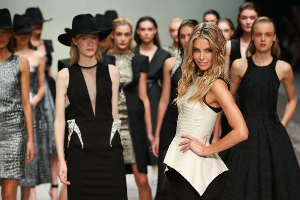 Jennifer Hawkins, Miss Universe 2004 during the Myer Spring/Summer 2014 Collections Launch and at the after party. - http://missuniversusa.com/jennifer-hawkins-miss-universe-2004-during-the-myer-springsummer-2014-collections-launch-and-at-the-after-party/