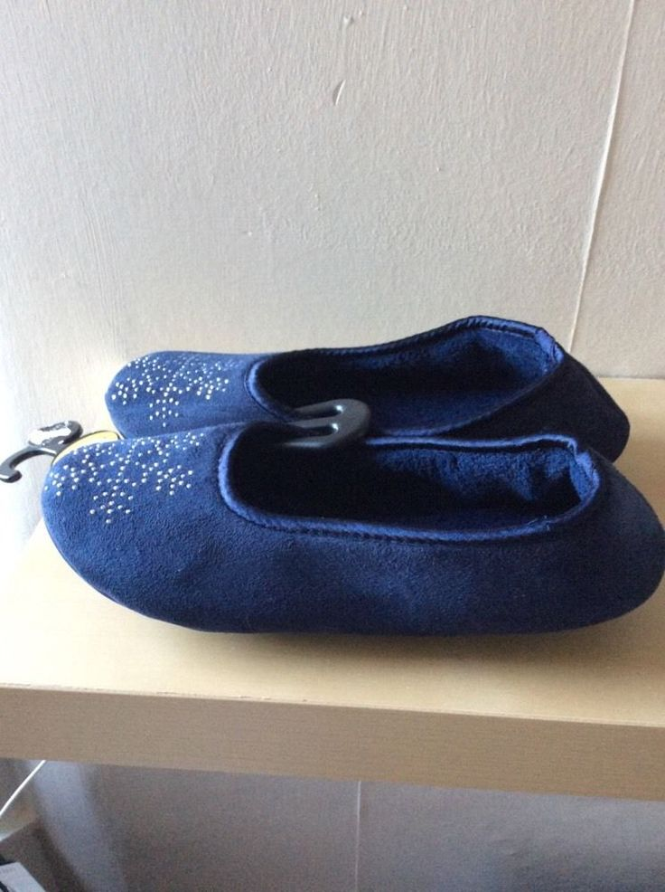 M&S Ladies slippers UK7-8, EU40.5-42, about:11  or 27cm BNWT