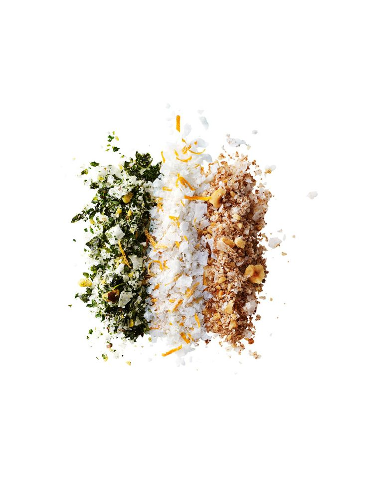 Infused Sea Salt Recipes
