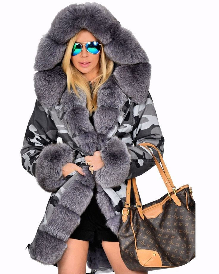 Plus Size Thick Winter Coats