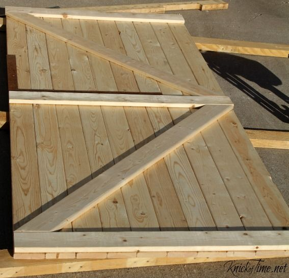 Building a Barn Door - KnickofTime.net