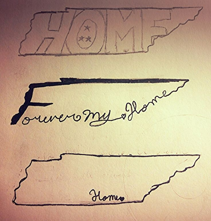A couple of Tennessee tattoo ideas I drew the other day.
