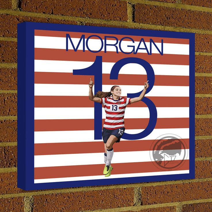 Alex Morgan Square Canvas Wrap - Soccer Art Print Alex Morgan Canvas Print - USWNT Soccer Poster wall decor home decor #soccer #wallart #decor #canvas #art #poster #graphicdesign #soccerart #football #futbol #etsy #g17 #graphics17 #etsy