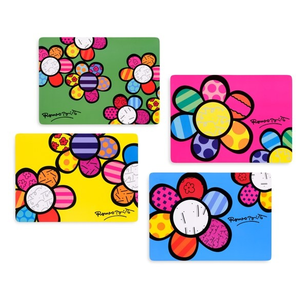 Britto™ by Giftcraft Flower Placemats - Bed Bath & Beyond