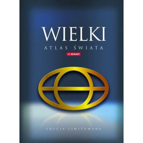Wielki atlas świata tylko 90,90zł w ArtTravel.pl