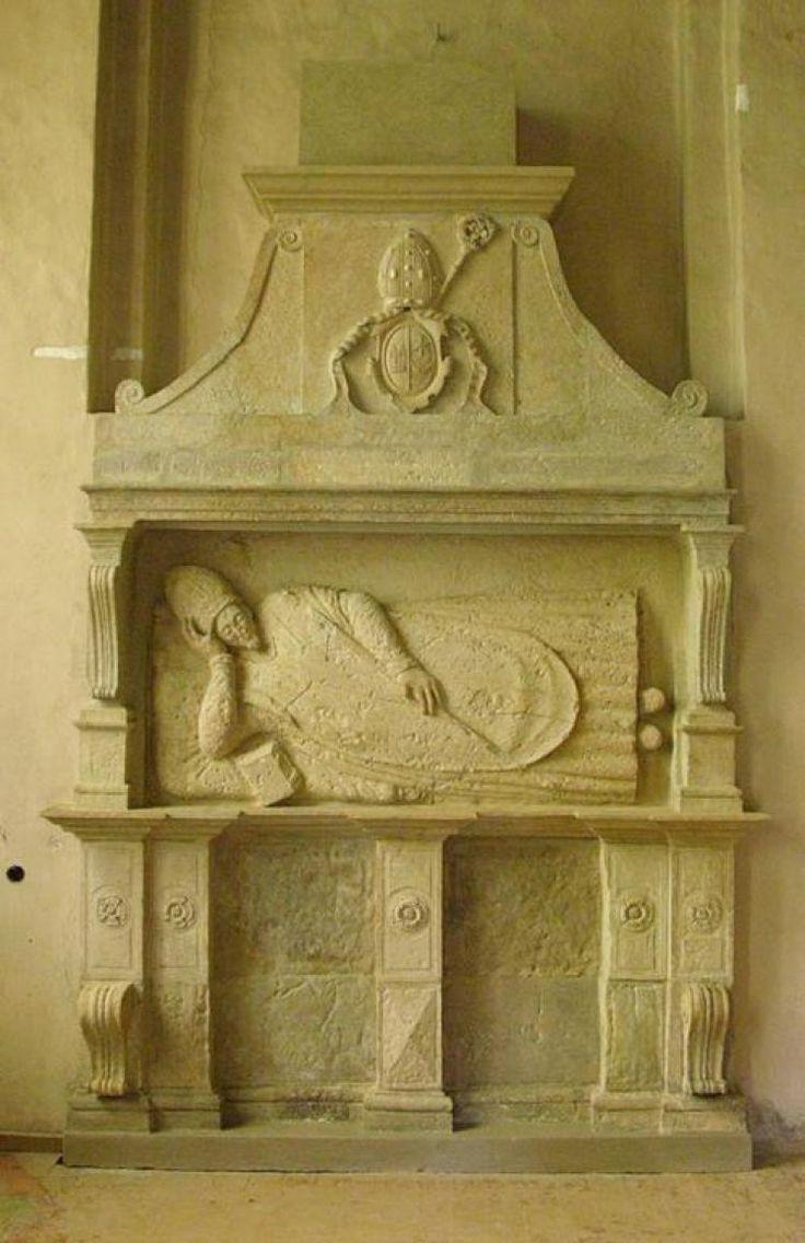 Kieś (Cēsis) - kościół św. Jana Chrzciciela. Pomnik nagrobny biskupa Andrzeja Patrycego Nideckiego