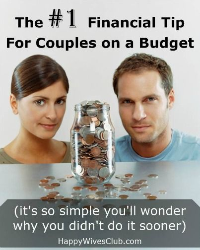 The No. 1 Financial Tip for Couples on a #Budget (It's so simple you'll wonder why you didn't do it sooner!) #Marriage #Finance Click to Read!
