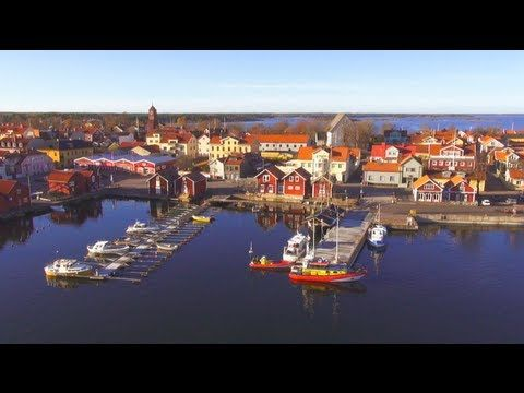 The beatiful city of Öregrund in Sweden from above, filmed with a film drone. Janne Jansson was the aerial cinematographer.