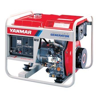 YANMAR AIRCOOLED DIESEL GENERATOR YDG3700N ELECT START C/W BATTERY
