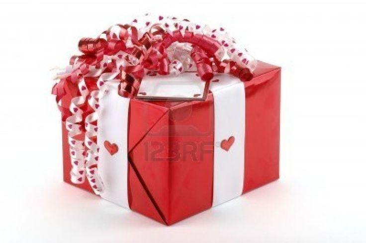 Beautifully Wrapped Valentines Gift Wrapped Up Just For