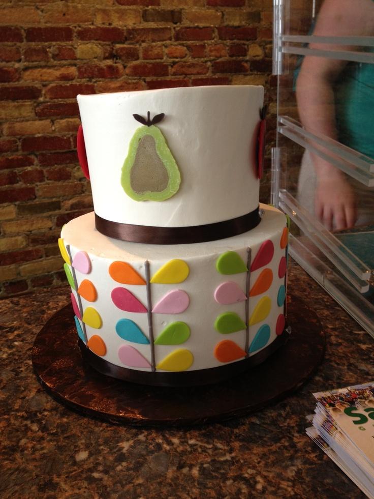 Orla Kiely cake