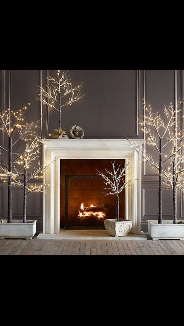 Fireplaces..