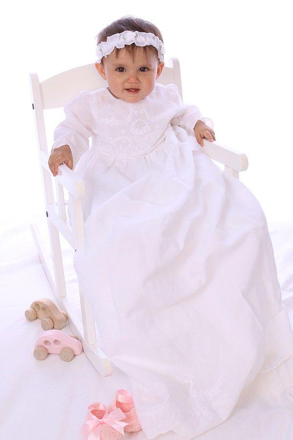 Stavanger Christening Gown from Oli Prik for €124 only at christeningwearcopenhagen.com Christening Gowns