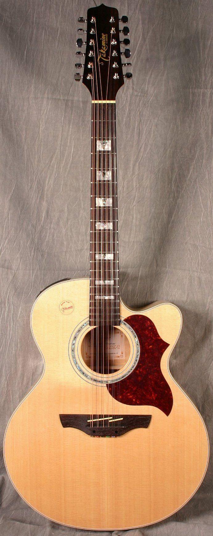 frettedchordophones: Takamine Jumbo 12 string Guitar =Lardys Chordophone of the day - a year ago ==Lardys Chordophone of the day - 2 years ago --- https://www.pinterest.com/lardyfatboy/