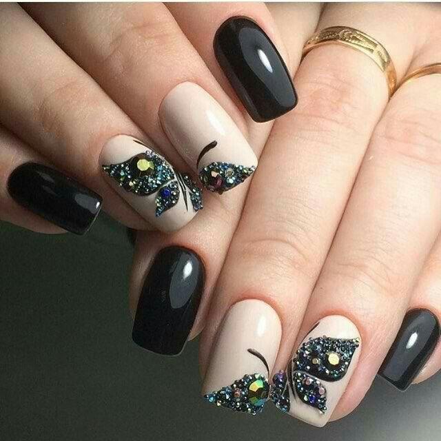25+ Best Ideas About Butterfly Nail Art On Pinterest