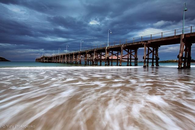 Coffs Harbour Jetty. Coffs Harbour, NSW, Australia