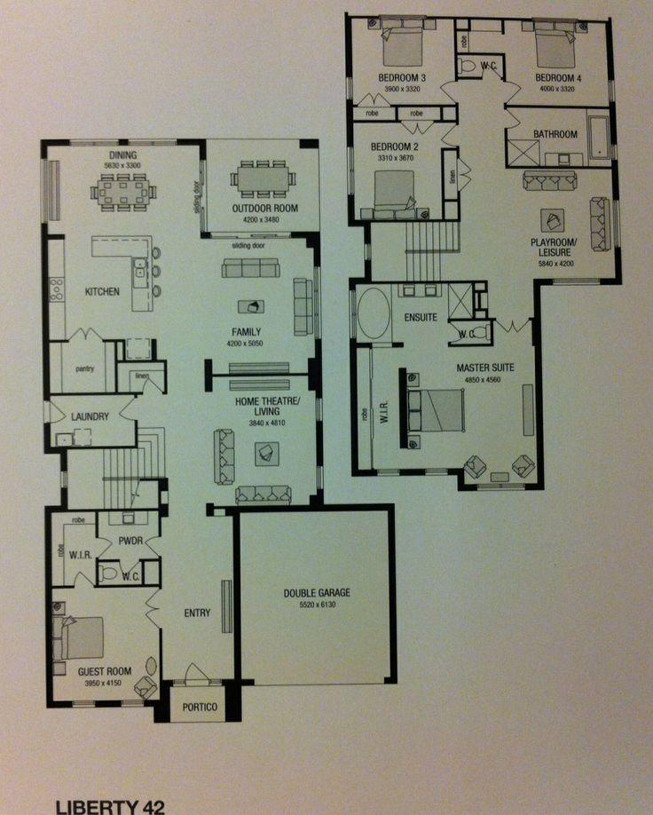 Double Story...  Liberty 42 - Metricon Homes.