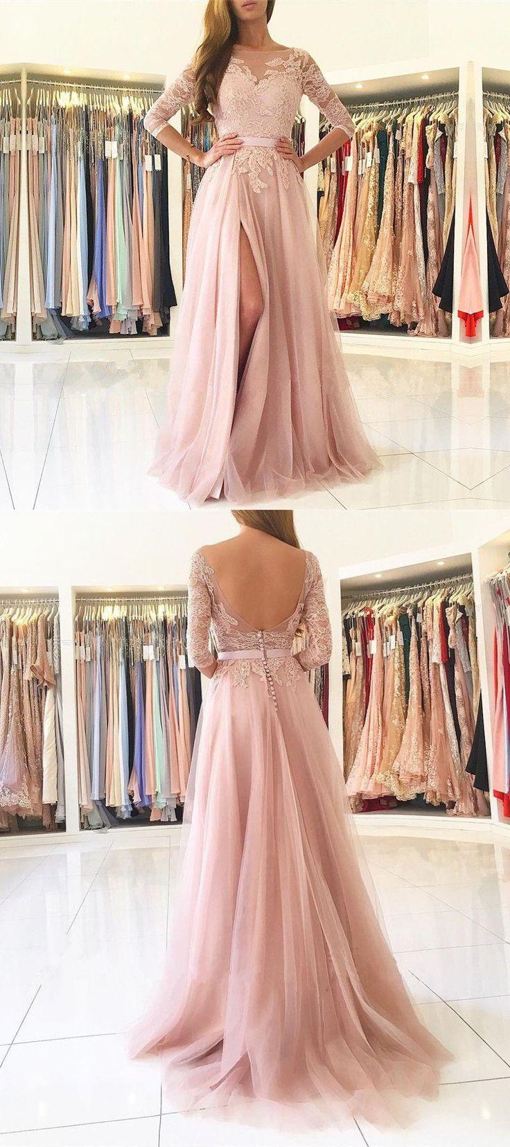 O-Neck Appliques A-Line Prom Dresses,Long Prom Dresses,Cheap Prom Dresses, Evening Dress Prom Gowns, Formal Women Dress,Prom Dress #longpromdresses