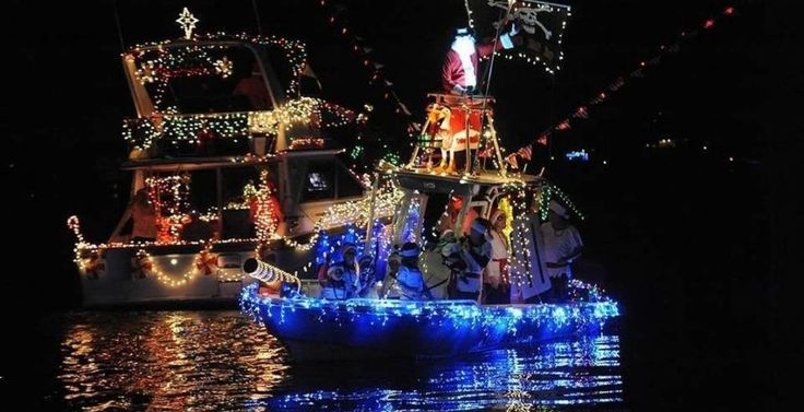 2017 Christmas Boat Parades from Clearwater to Siesta Key