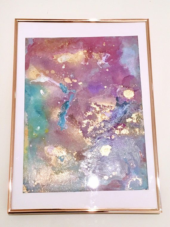 Living In A Day Dream - Original Abstract Painting