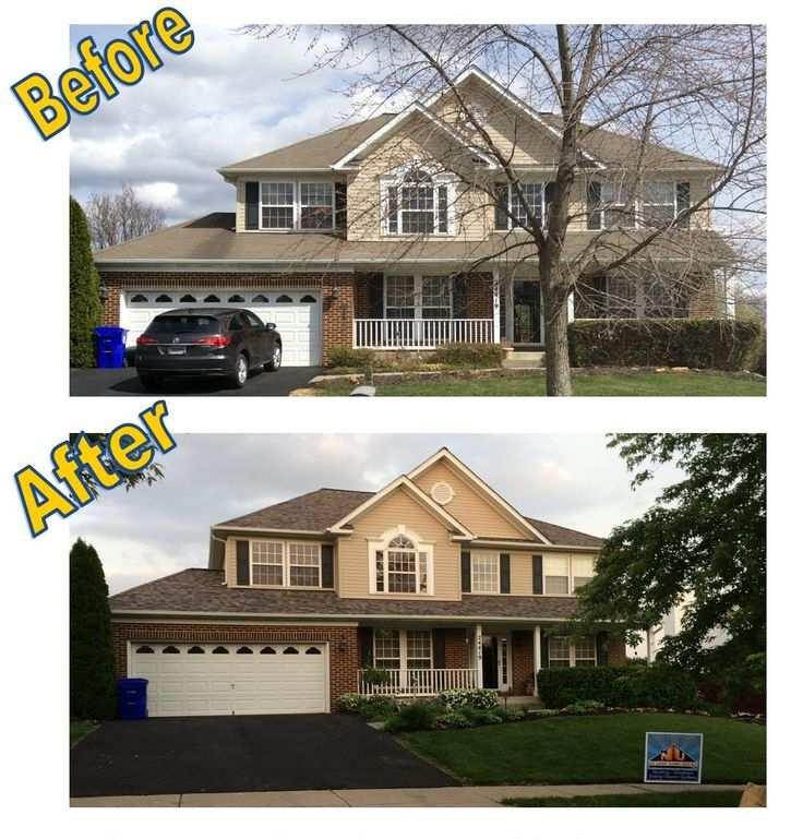 New Roof Before And After Follow Lasher Roofing