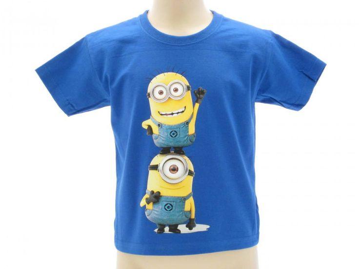 T-shirt maglietta manica corta MINIONS Cattivissimo Me due personaggi taglia M