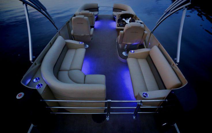 11 best waterproof led strip lights images on pinterest for Pontoon boat interior designs