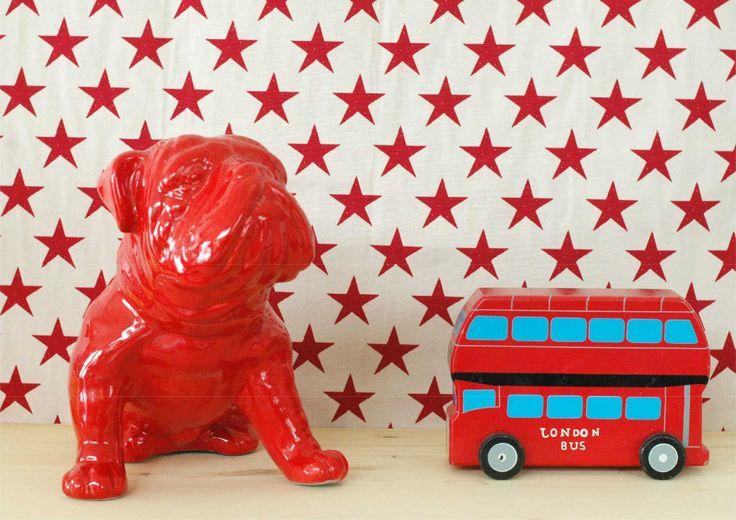 Ceramic Winston Chruchill Bulldog