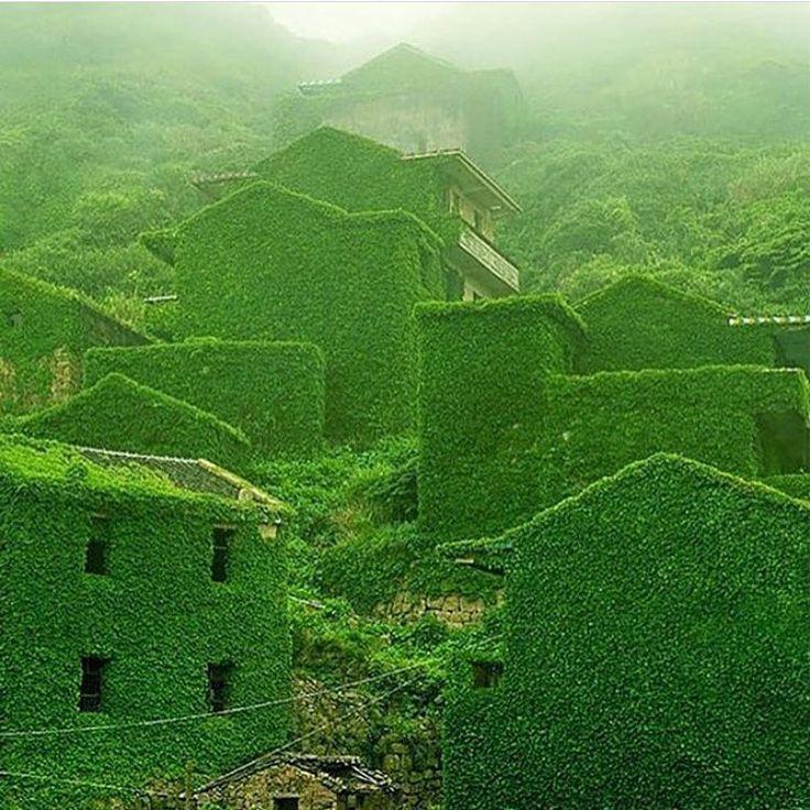 Houtouwan, on Shengshan Island, one of the Zhoushan Islands, China. By Tang Yuhong.